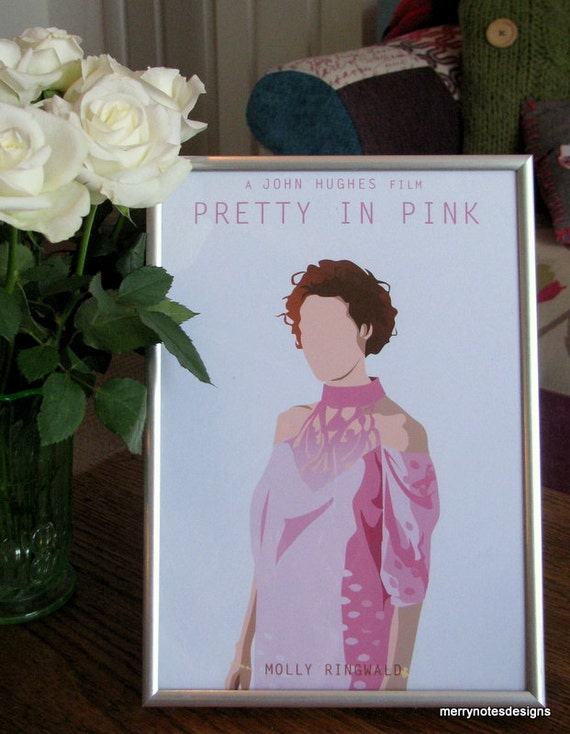 Pretty in Pink movie poster - A4 printPretty In Pink Poster