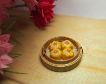 Miniature Dim Sum - Siew Mai (can be converted to magnet)