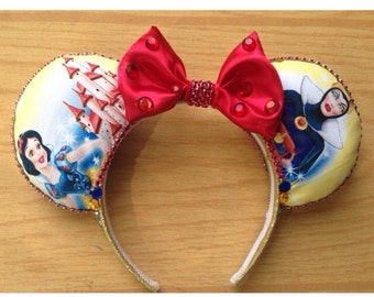 Snow White and the Wicked Queen ears