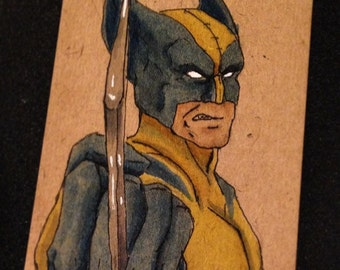 Wolverine Middle Claw Card