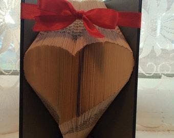 Slanty heart *bookfolding pattern* 210 pages