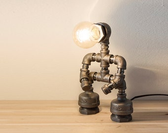 Pipe Lamp Etsy