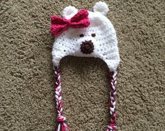 Pretty Polar Bear Hat
