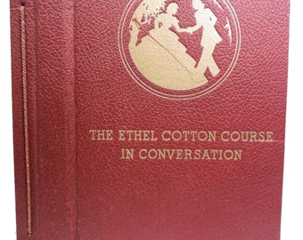 Ethel Cotton Americana Course in Conversation Scarce circa 1930's