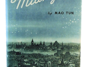 MIDNIGHT MAO TUN Foreign Languages Press 1979 with Jacket!