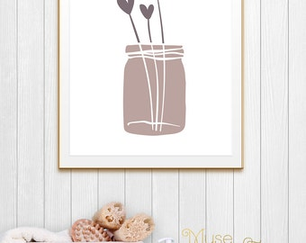 Neutral Colors, Neutral Shades, Neutral Art, Neutral Tone, Neutral Love Art, Neutral Hearts Print, Neutral Hues, Neutral Theme, Neutral Deco