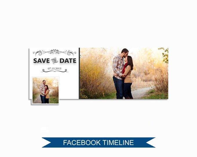 Facebook Timeline Cover Photoshop Template - FBEM04
