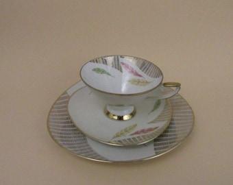Vintage Sammeltassen-Set/vintage tea cup saucer   Winterling Röslau   Germany