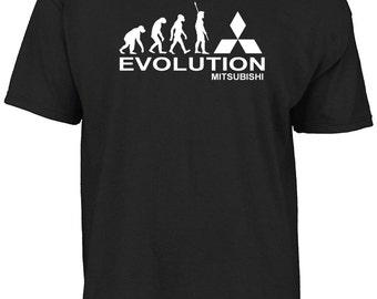 Evolution mitsubishi t-shirt