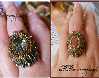 2 in 1 tutorial: Elios and Victorian ring