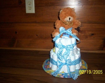 Layered Diaper Cakes