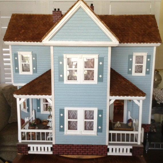 Wooden Doll House For Sale Dollhouse Furniture Local Pick Up