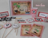 Printable party pirates-pirate printable Kit