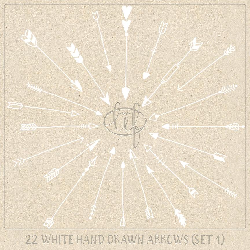 Aztec Arrow Clip Art Vector Arrow Clip Art Set 1