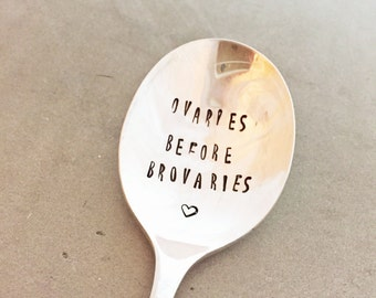 Valentines Day Gift For Friends, Hand Stamped Spoon, Gift For Girlfriends, Funny Gifts, Valentines Day, Single Friend Gift, Galentines Day