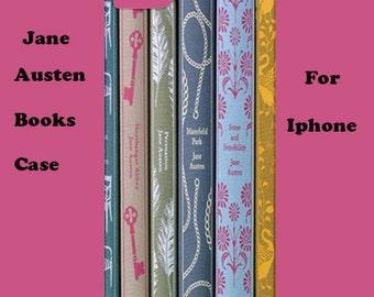 Jane Austen Books  iphone case, iphone case, iphone case,19th century, cover, retro, iphone 6, iphone 5, cover, iphone 6 plus, iphone 4
