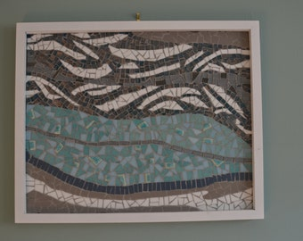 mosaic topography