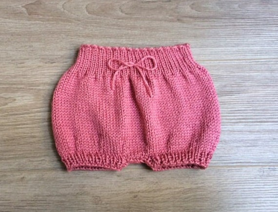 Baby Bloomers Knitting Pattern by CastonandChain on Etsy