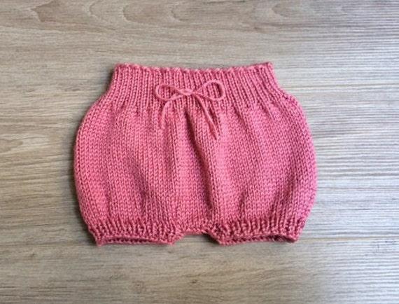 Etsy Knitting Patterns : Baby Bloomers Knitting Pattern by CastonandChain on Etsy