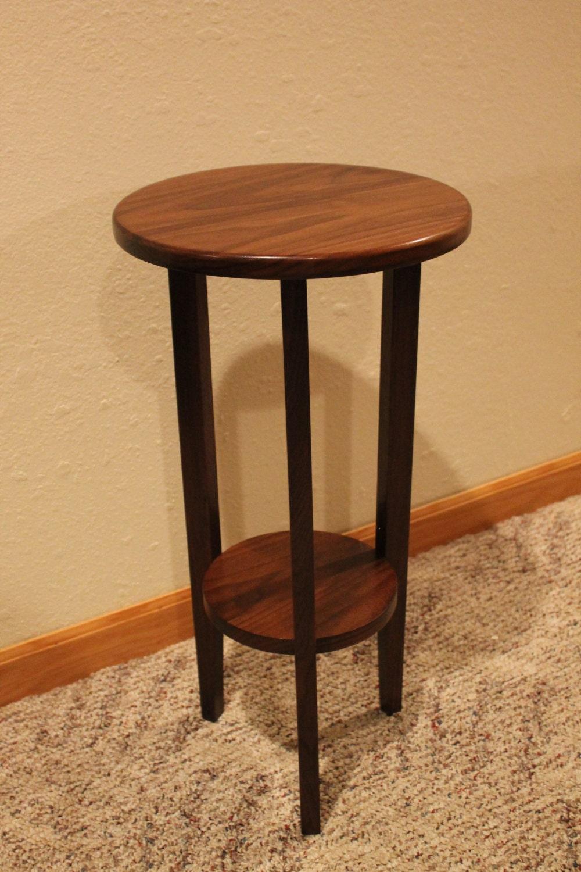 Indoor Plant Stand Wooden Shelf Custom By Woodworksbyknapp