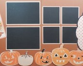 Oh So Spooky with Jack-o-lanterns Scrapbook Kit