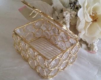 Wedding Favors, Crystal Bling Bling Favors Box, Gold Wedding Decoration, Crystal Wedding Decorations, Silver Wedding Favors, Gold Weddings
