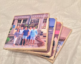 Photo Coasters Personalized - Set of Four
