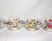 Vintage Coffee Serving Set very Rare four seasons very exclusive Made in Germany- German Porcelain
