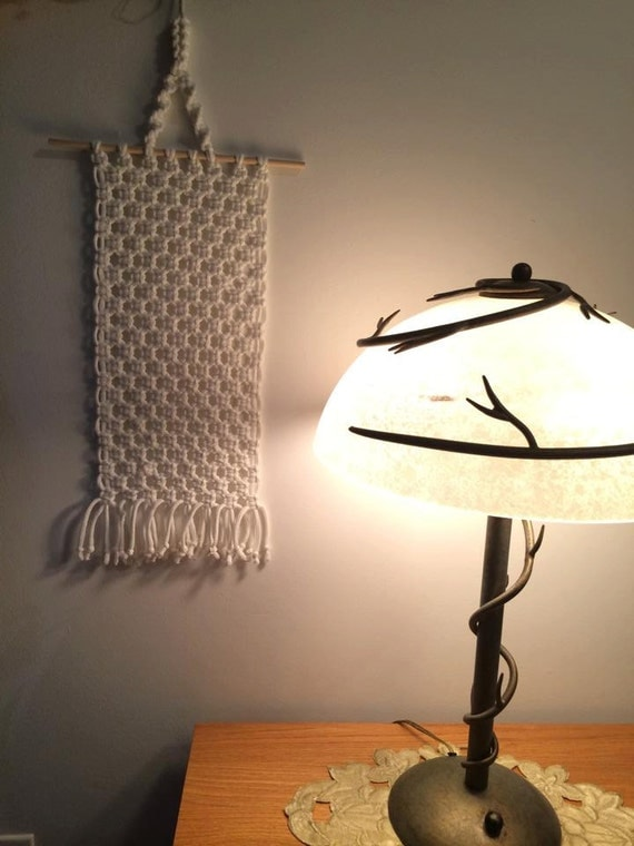 Macrame wall hanging home decoration by macramebynadeen on etsy - Wall hanging picture for home decoration ...