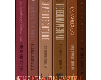 The Mars Volta albums as a series of books (POSTER PRINT)
