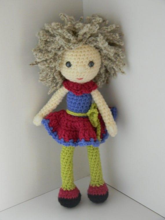 Amigurumi dolls pattern by Kamuka on Etsy