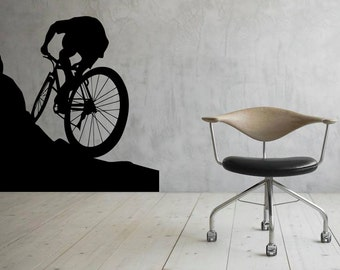 Bicycle Wall Decal Etsy - Vinyl stickers for bikes