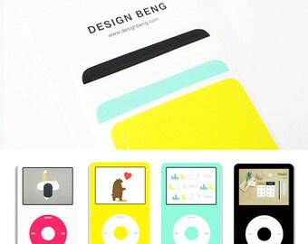 4Sheets! iPod Classic Skin - Set C