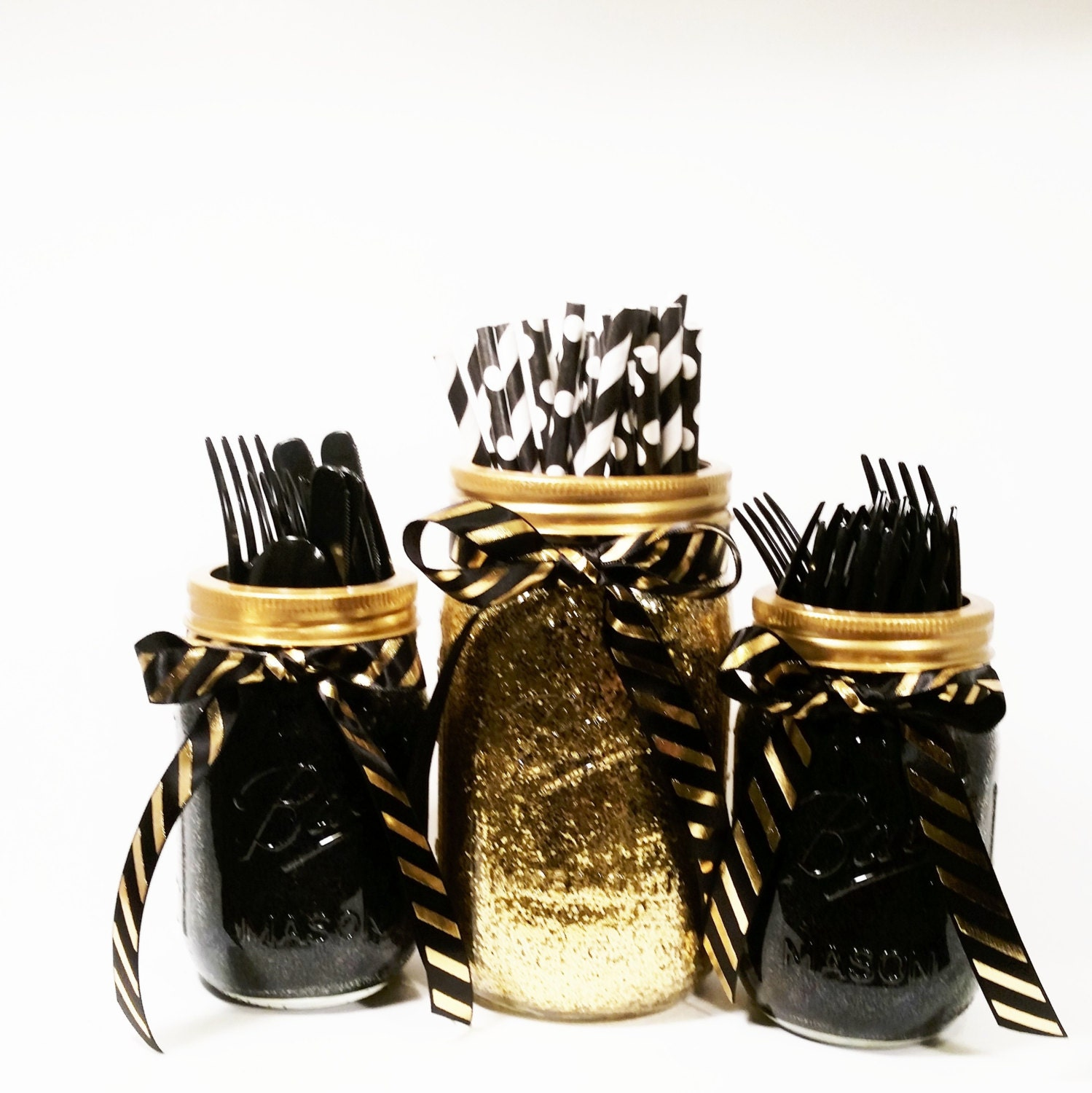 Black And Gold Wedding Decorations: New Years Eve Decor Birthday Decorations Black And Gold
