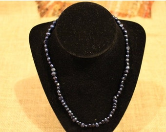 Freshwater Pearl Necklace, Bracelet, and Earrings