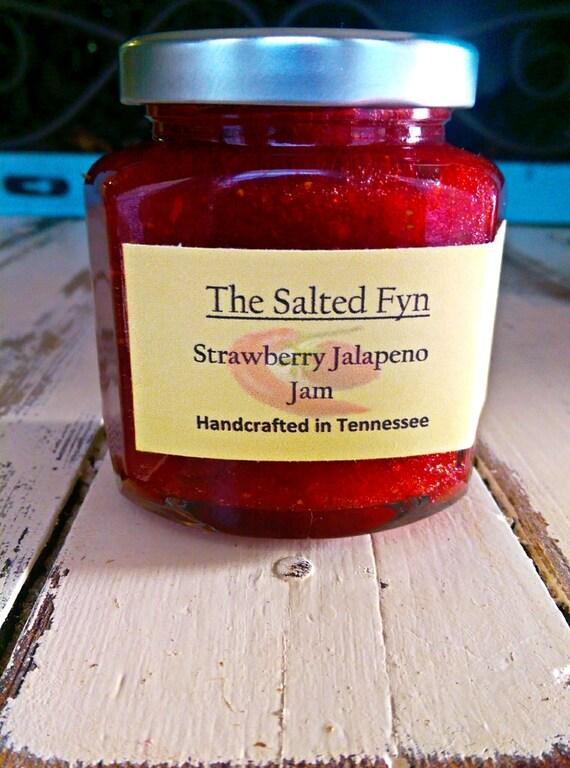 Strawberry Jalapeno Jam - Spicy Strawberry Jalapeno Jam, All Natural ...