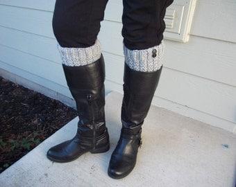 Knit Boot Topper (Cuff)