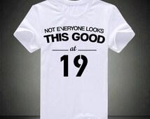 19th Birthday, birthday gifts, birthday shirt, 1996 shirt, cheers to 19 years, 1996 tshirt, 1996 birthday, birthday present, 19 years old