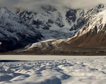 McGinnis Peak - Fresh Snow - Signed Lustre Print