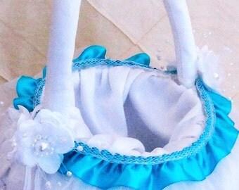 Lasting Radiance Flower Girl Basket
