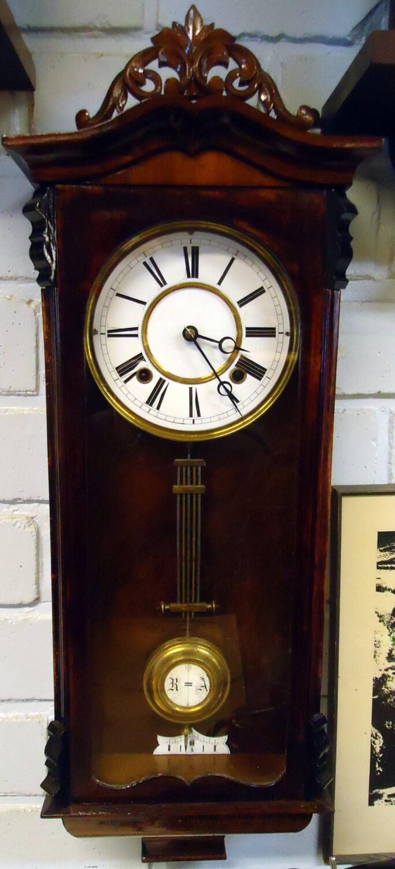German gustav becker 1875 wall clock for Becker payment plan