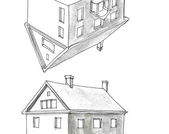 House Perspective Print 1