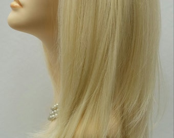 Long 21 inch Straight Blonde Lace Front Wig with Premium Heat Resistant Fiber. [46-250-Lina-613]