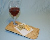 Pair of Birdseye Maple Wine and Cheese Boards