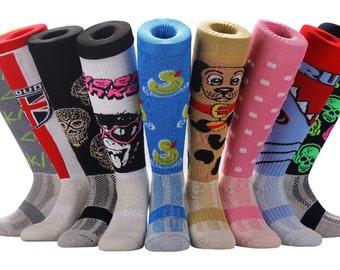 Samson® Funky Socks Sport Knee High Football Rugby Soccer