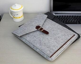"""Felt Macbook 13"""" Sleeve, Felt Macbook 13 Retina , Felt Macbook 13 Cover , Felt Macbook 13 Case , Felt Macbook 13 inch Case #205"""