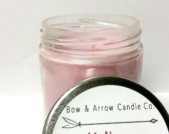 Natural Soy Candle Mulberry Scented | 7 oz Jar Candle | Mulberry Soy Candle | Fruity Candle | Bubble Gum Candle