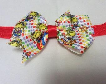 Rainbow Brite Headband or Clip