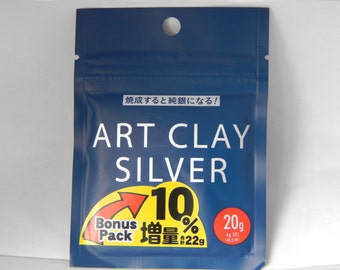Art Clay Silver 20g - Precious Metal Clay Supplies - PMC - Precious Metal Clay - Fine Silver Metal Clay - Art Clay