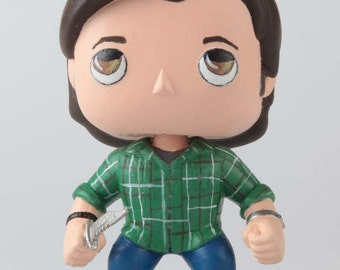 Supernatural Sam Winchester - Custom Funko Pop Vinyl Figure